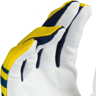 Answer AR-1 Glo Pro Yellow Midnight White Gloves Image 4