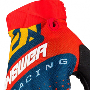 Answer AR-3 Korza Red Midnight Yellow Gloves Image 2