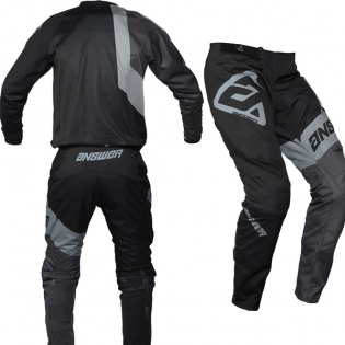 Answer Syncron Voyd Black Charcoal Steel Pants Image 4