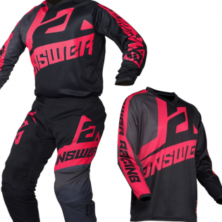 Answer Syncron Voyd Black Charcoal Pink Pants Image 2