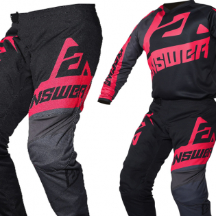 Answer Syncron Voyd Black Charcoal Pink Pants Image 4