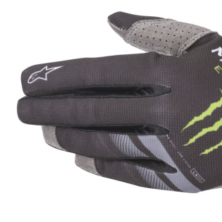 Alpinestars Radar Monster Ammo Black Green Gloves Image 2