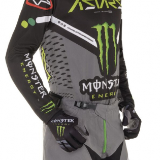 Alpinestars Radar Monster Ammo Black Green Gloves Image 3