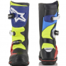 Alpinestars Tech-T Black Blue Red Yellow Fluo Trials Boots