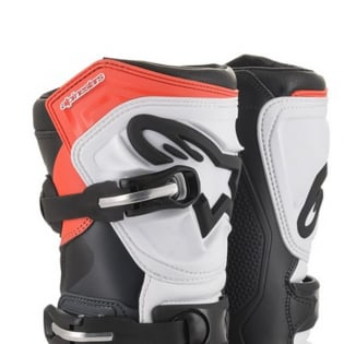 Alpinestars Tech-T Black Grey Red Fluo Trials Boots Image 2