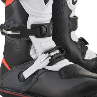 Alpinestars Tech-T Black Grey Red Fluo Trials Boots Image 3
