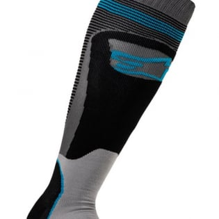 Alpinestars Plus-1 Black Cyan MX Socks Image 3
