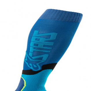 Alpinestars Plus-2 Blue Cyan MX Socks Image 2