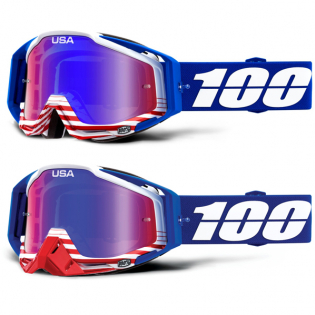 100% Racecraft Anthem Mirror Lens Goggles Image 4