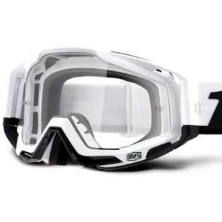 100% Racecraft Stuu Clear Lens Goggles Image 2