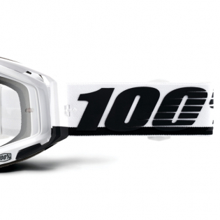 100% Racecraft Stuu Clear Lens Goggles Image 3