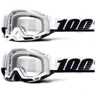 100% Racecraft Stuu Clear Lens Goggles Image 4