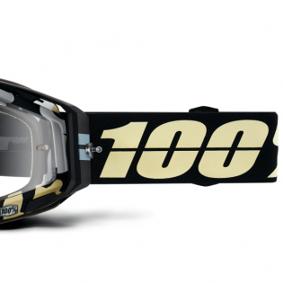 100% Racecraft Ergoflash Clear Lens Goggles Image 3