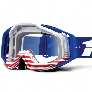 100% Racecraft Anthem Clear Lens Goggles Image 2