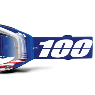 100% Racecraft Anthem Clear Lens Goggles Image 3