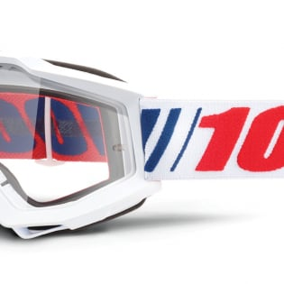 100% Accuri AF066 Clear Lens Goggles Image 4