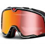 100% Barstow Classic Gasby Red Lens Goggles