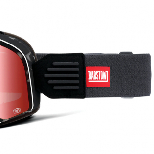 100% Barstow Classic Gasby Red Lens Goggles Image 4