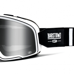 100% Barstow Classic Coda Silver Lens Goggles Image 3