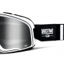 100% Barstow Classic Coda Silver Lens Goggles