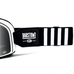 100% Barstow Classic Coda Silver Lens Goggles Image 4