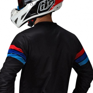 Troy Lee Designs Kids GP Carlsbad White Black Kit Combo Image 4