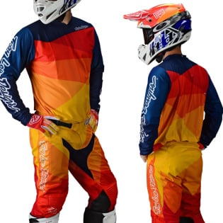 Troy Lee Designs Kids GP Jet Yellow Orange Pants Image 2