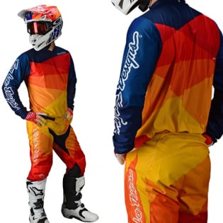 Troy Lee Designs Kids GP Jet Yellow Orange Pants Image 4