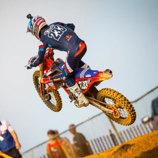 Troy Lee Designs SE Seca Dark Navy Orange Kit Combo Image 4