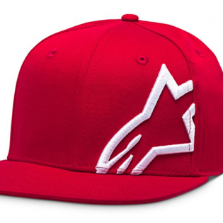Alpinestars Corp Snap Cap Red White Image 2