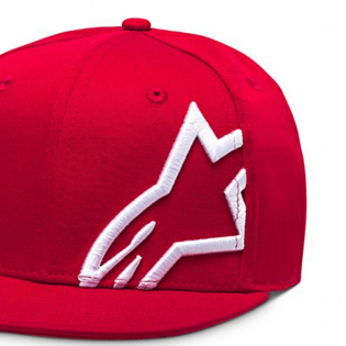 Alpinestars Corp Snap Cap Red White Image 4
