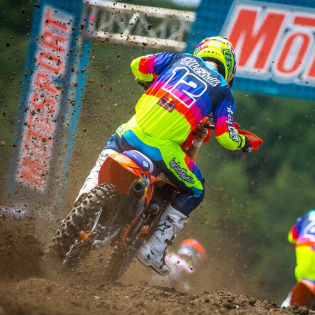 Troy Lee Designs SE Pro KTM Mirage Yellow Jersey Image 4