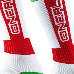ONeal Pro MX California Red White Brown Boot Socks Image 3