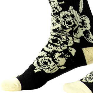 ONeal Pro MX Tophat Black Beige Boot Socks Image 4