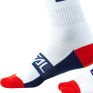 ONeal Pro MX Moto Life White Red Blue Boot Socks