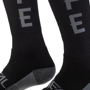 ONeal Pro MX Ride Life Black Grey Boot Socks Image 3