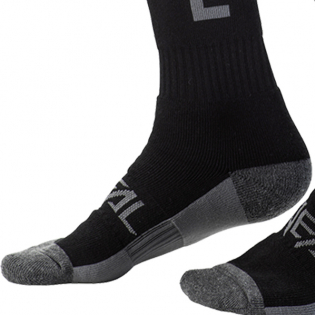 ONeal Pro MX Ride Life Black Grey Boot Socks Image 4