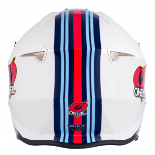 ONeal Volt MN1 White Red Blue Trials Helmet Image 3