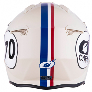 ONeal Volt Herbie White Red Blue Trials Helmet Image 3