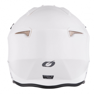 ONeal Volt Solid White Trials Helmet Image 2