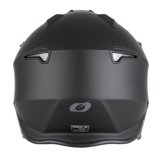 ONeal Volt Solid Black Trials Helmet Image 2