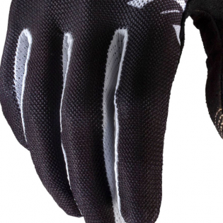100% Celium Black White Gloves Image 4