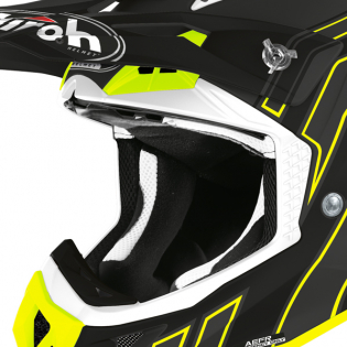 Airoh Aviator Ace Art Black Matt Helmet Image 2