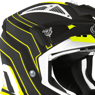Airoh Aviator Ace Art Black Matt Helmet Image 3