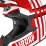 Airoh Wraap Broken Red Gloss Helmet