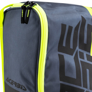 Acerbis Motocross Black Flo Yellow Boot Bag Image 2