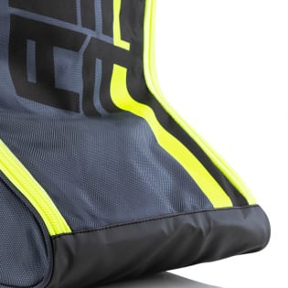 Acerbis Motocross Black Flo Yellow Boot Bag Image 4