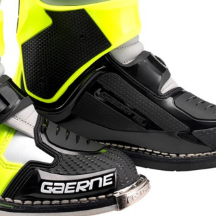 Gaerne SG12 Grey Yellow Black Motocross Boots Image 4