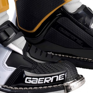 Gaerne SG12 Grey Magnesium White Motocross Boots Image 4