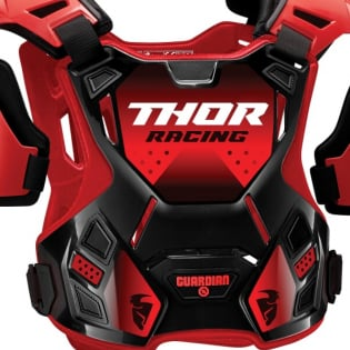 Thor Youth Guardian Black Red Body Protection Image 2